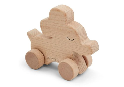 Liewood Elena Wood Toy Elephant natural