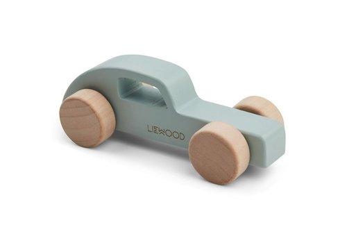 Liewood Elena Wood Toy Car dusty mint