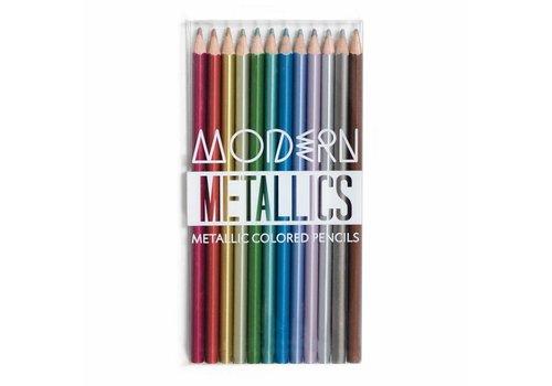 Ooly Moderne metallic kleurpotloden