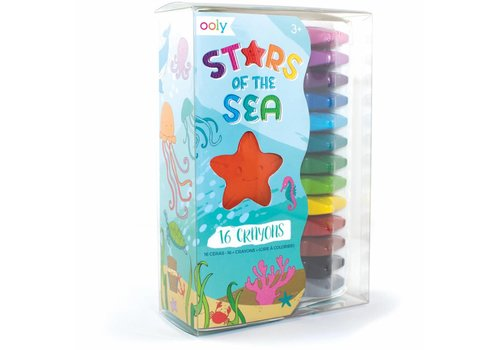 """Ooly Zeester waskrijtjes """"Stars of the Sea"""" 16st"""