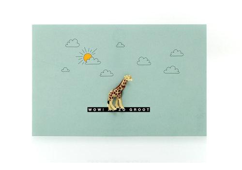 Leuke Kaartjes Luckies giraf