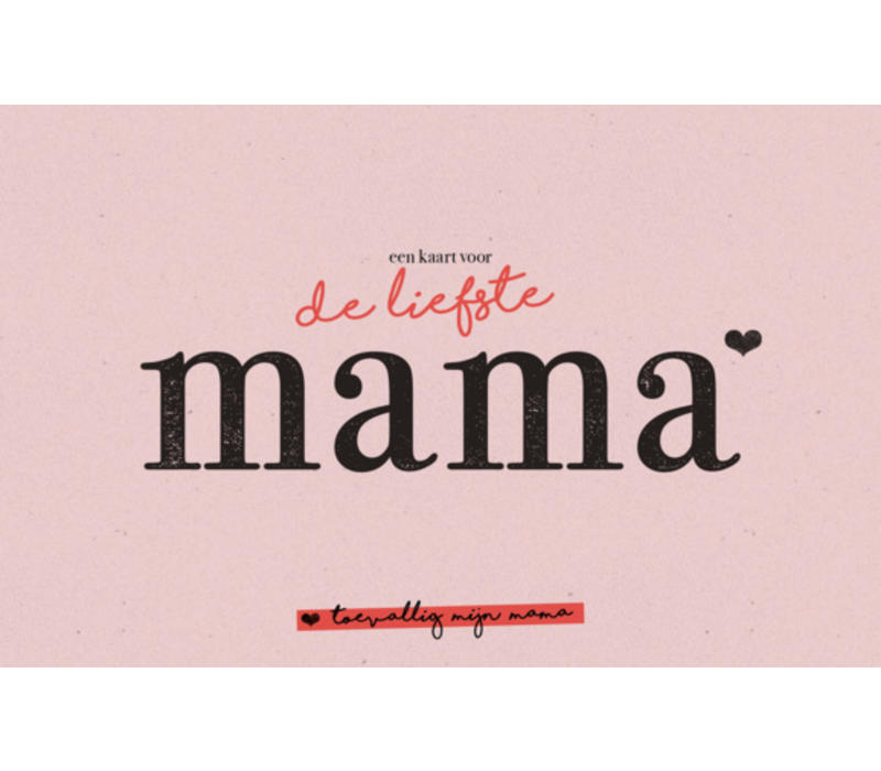 Karoo De liefste mama