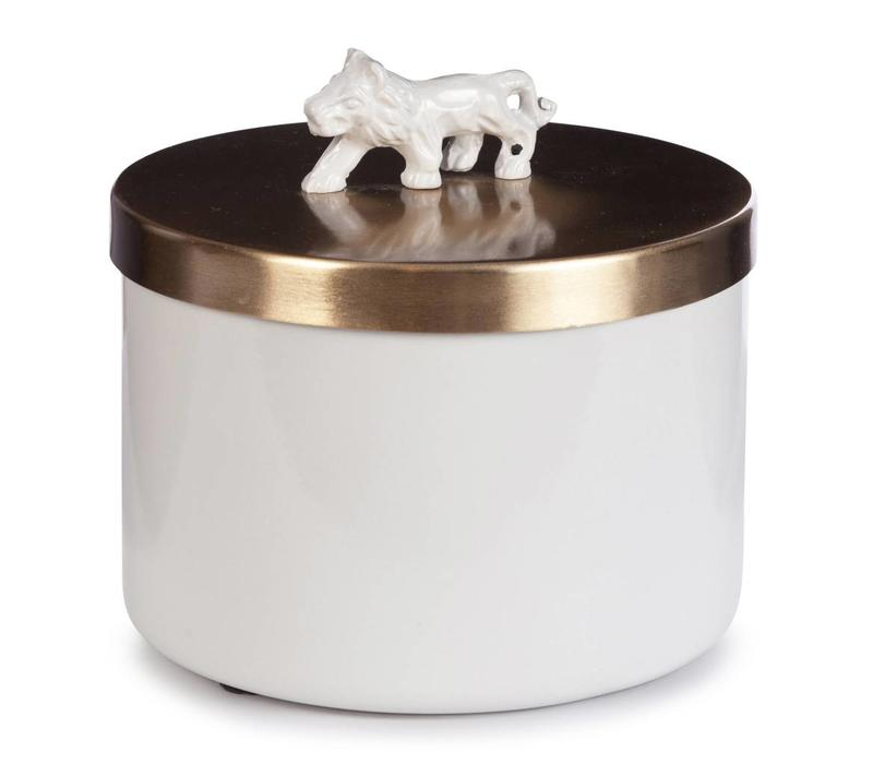 Sophie Lion box white
