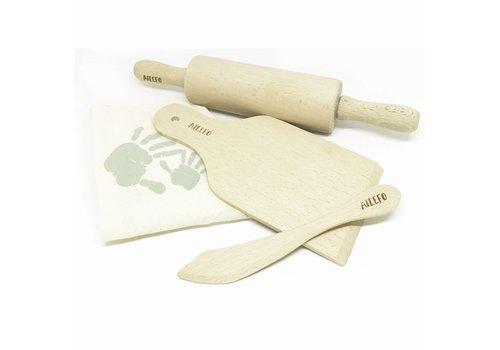 Ailefo Houten toolset voor speelklei