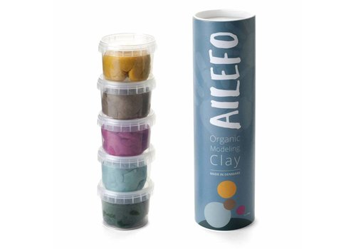 Ailefo Organic modeling clay mini tube