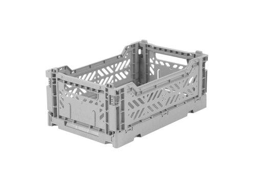 Aykasa Foldable crate mini grey