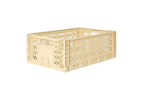 Aykasa Foldable crate maxi banana