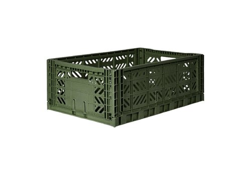 Aykasa Foldable crate maxi khaki