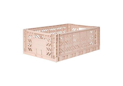 Aykasa Foldable crate maxi milk tea