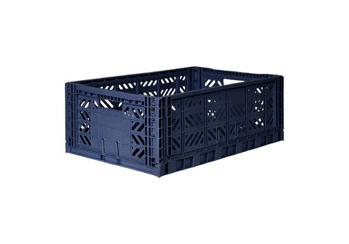 Aykasa Foldable crate maxi navy