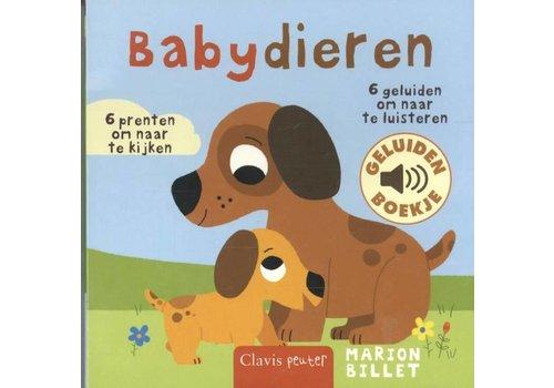 Clavis Geluidenboekje: Babydieren. 1+