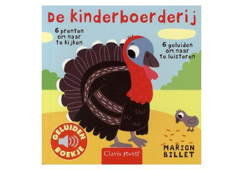 Clavis Geluidenboekje: De kinderboerderij. 1+