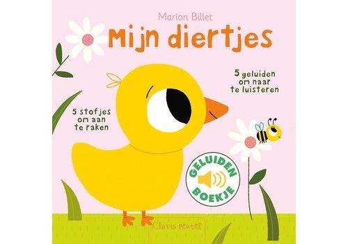 Clavis Geluidenboekje: Mijn diertjes. 1+