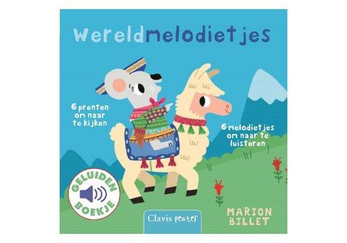 Clavis Geluidenboekje: Wereldmelodietjes. 1+