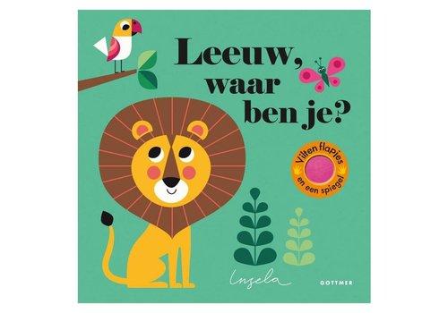 Clavis Leeuw, waar ben je (karton). 2+
