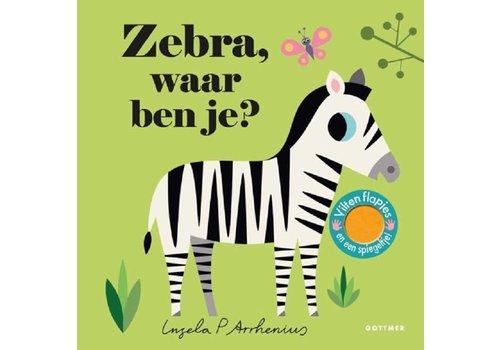Gottmer Zebra, waar ben je (karton). 2+