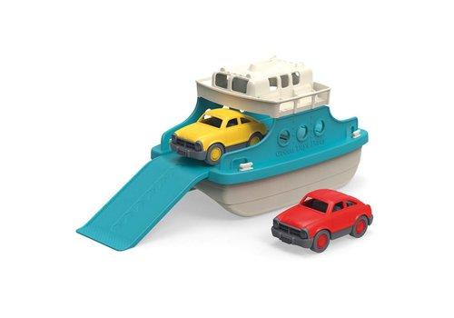 Green Toys Ferryboot met auto's blauw