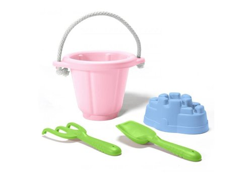 Green Toys Sand playset Pink