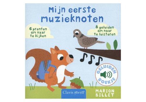 Clavis Geluidenboekje: Mijn eerste muzieknoten. 1+