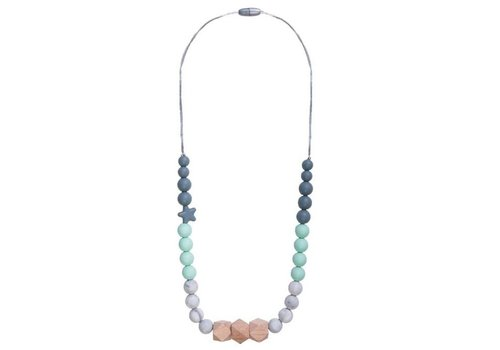 Nibbling Necklace Solar mint