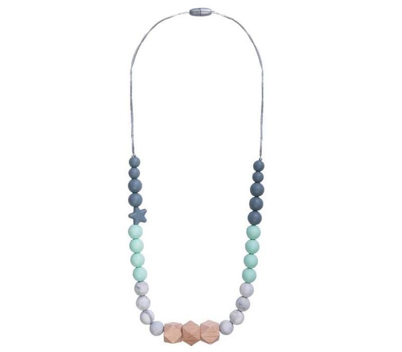 Necklace Solar mint