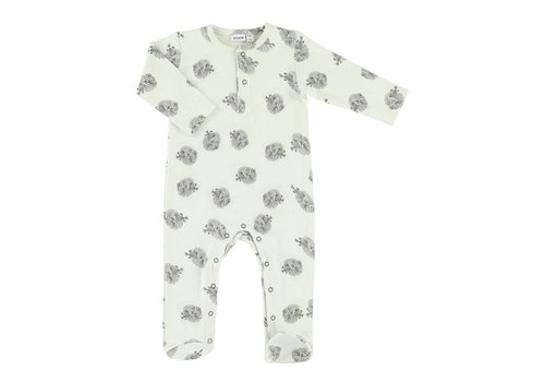 Trixie Baby Onesie with feet Blowfish