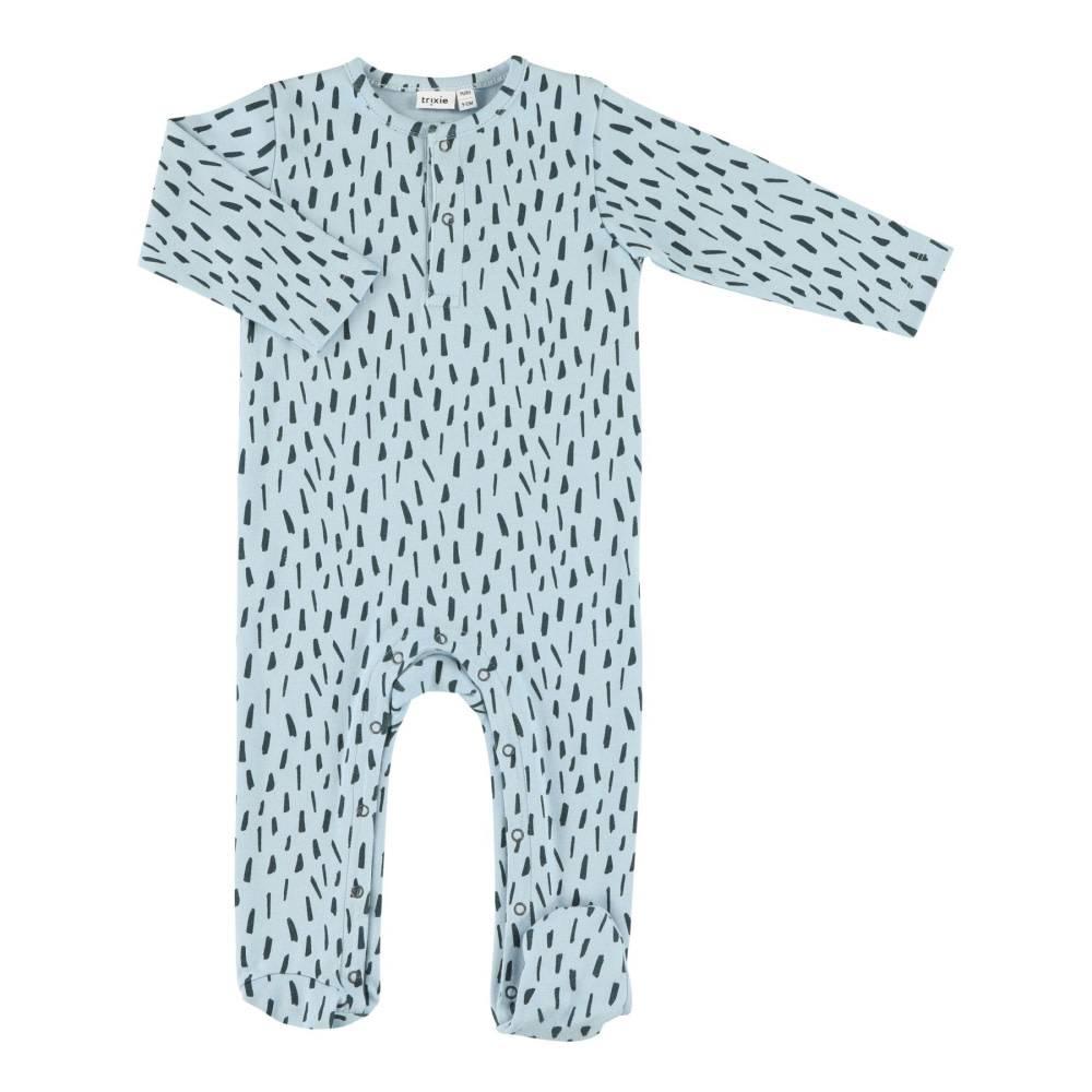 Trixie Baby • Onesie with feet Blue Meadow - Atelier BéBé 9542b850d