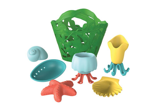 Green Toys Badspeelgoed set groen