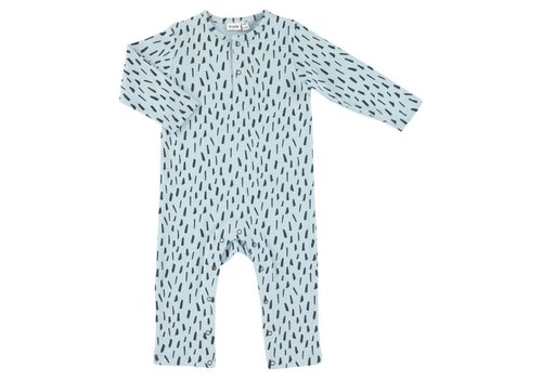 Trixie Baby Onesie long Blue Meadow