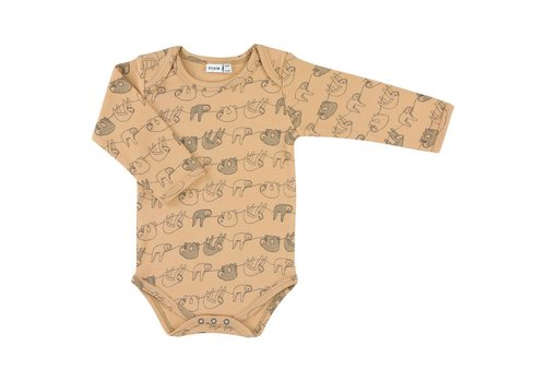 Trixie Baby Body long sleeves Silly Sloth