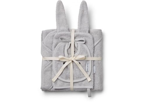 Liewood Adele baby pakket Rabbit dumbo grey