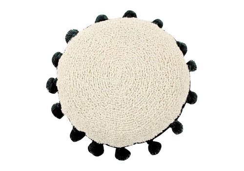 Lorena Canals Cushion Circle 48 Black
