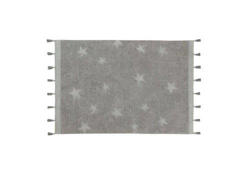 Lorena Canals Tapijt Hippy Stars 120x175 grey