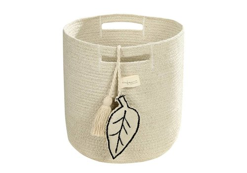 Lorena Canals Basket Leaf 30x30 Natural