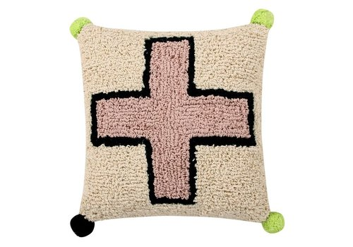 Lorena Canals Cushion  Cross 38x38
