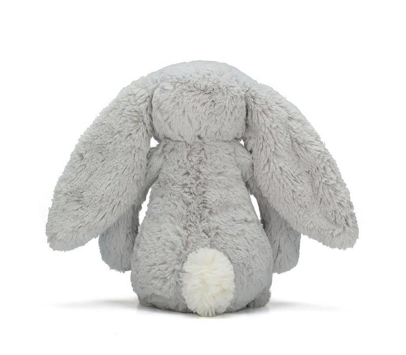 Bashful Silver Bunny 36cm
