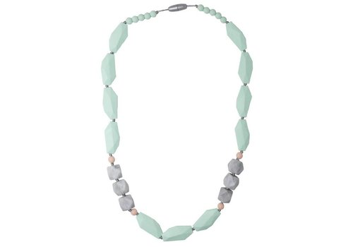 Nibbling Necklace Brighton mint/marble
