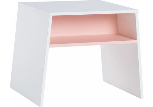 Vox TULI Tafeltje white/pink
