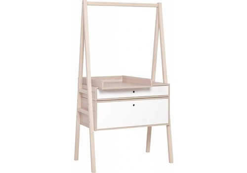 Vox SPOT Commode met luiertafel white