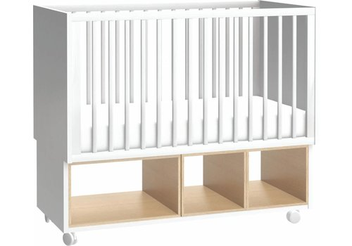 Vox 4 YOU Cot Bed 120x60 white/oak