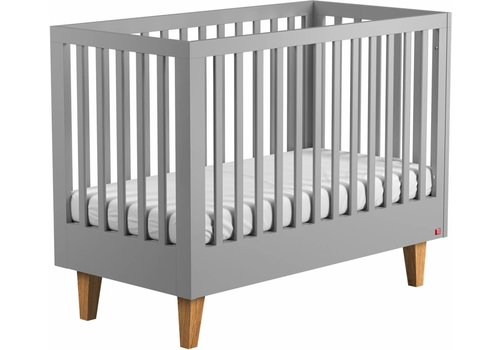 Vox LOUNGE Cot Bed 140x70 (infant Bed included) grey