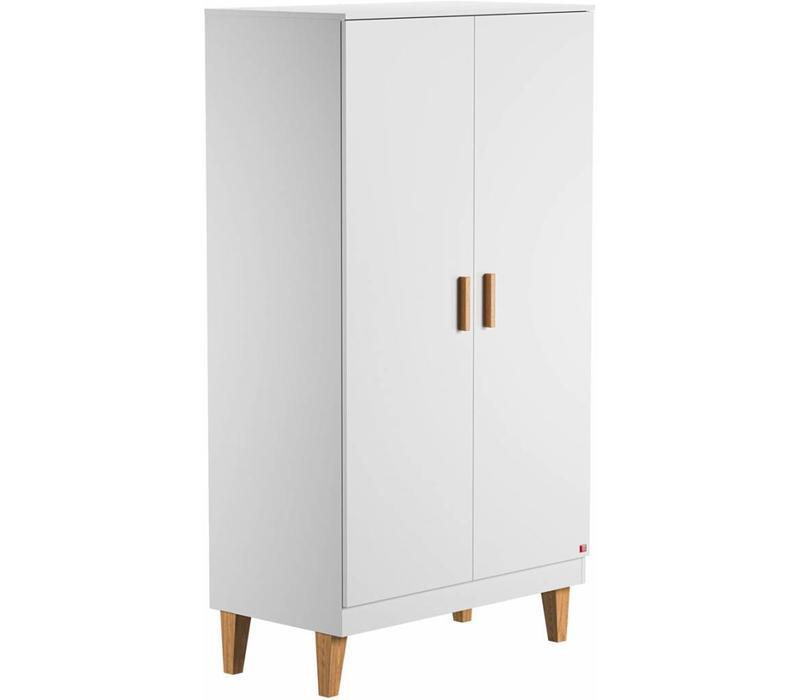 Kleerkast 2 Deurs.Vox Lounge Kleerkast 2 Deurs White Atelier Bebe