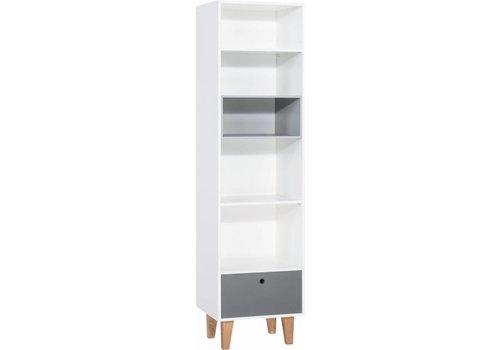 Vox CONCEPT Boekenkast white/grey/graphite/oak
