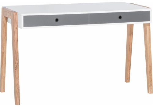 Vox CONCEPT Desk white/grey/graphite/oak