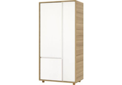 Vox EVOLVE 2-door wardrobe white/oak