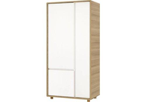 Vox EVOLVE Kleerkast 2-deurs white/oak
