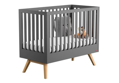 Vox NATURE Cot Bed 140x70 (infant Bed included) grey