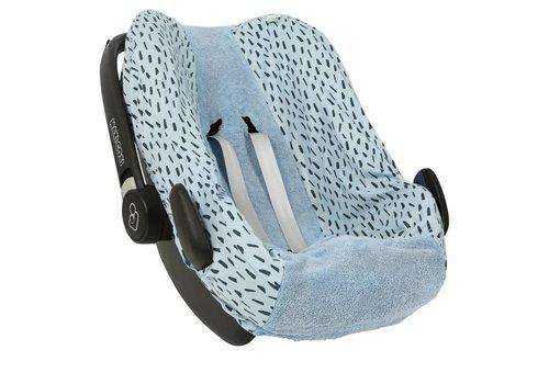Trixie Baby Hoes autostoel Pebble Blue Meadow