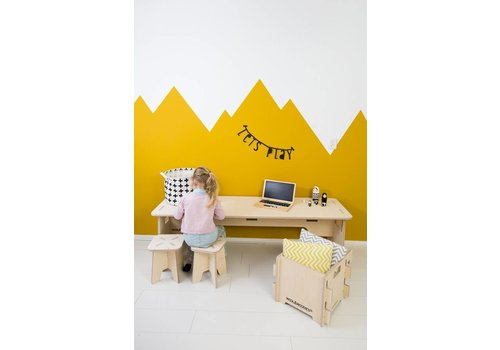 Wool & Woodies Playtable 120cm