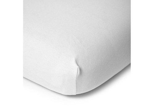 Childhome Mattress cover organic cotton 60x120cm white